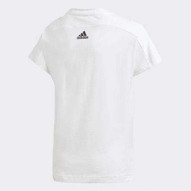 T-shirt Bold2 blanc Adolescents Entraînement