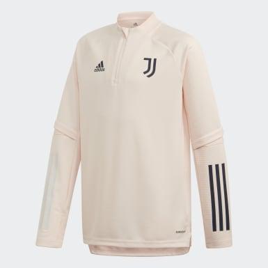 Sudadera entrenamiento Juventus Rosa Niño Fútbol
