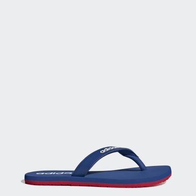 ผู้ชาย ว่ายน้ำ สีน้ำเงิน รองเท้าแตะ Eezay