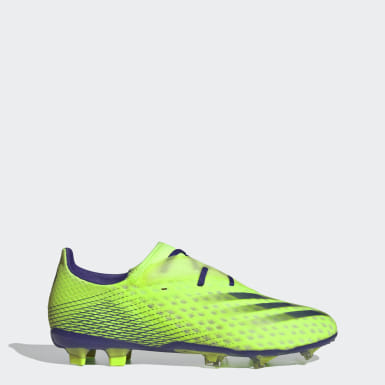 Men's Soccer Green X Ghosted.2 Firm Ground Soccer Cleats