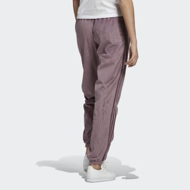 Pantalon Cuffed pourpre Femmes Originals