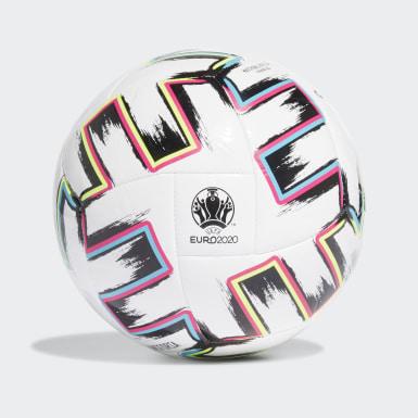 Men Football White Uniforia Sala Training Ball
