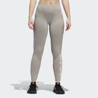 Women Essentials Grey Essentials Linear Tights