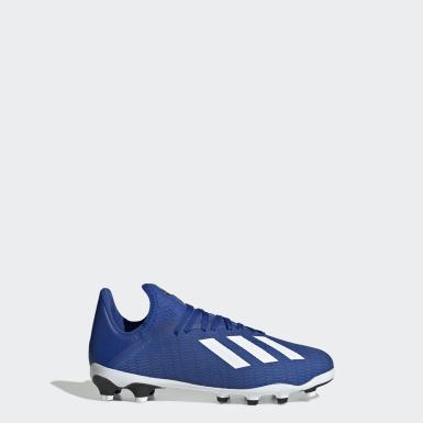 Botas de Futebol X 19.3 – Multissuperfície Azul Criança Futebol