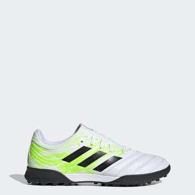 Mænd Fodbold Hvid Copa 20.3 Turf støvler