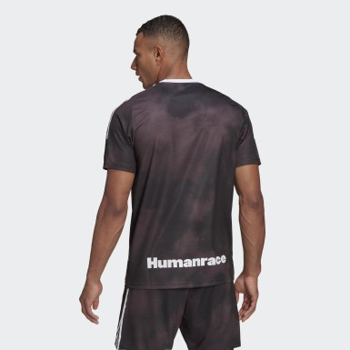 Soccer Black Real Madrid Human Race Jersey