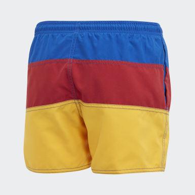 Shorts de baño Colorblock Azul Niño Natación