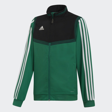 Kids Training Green Tiro 19 Presentation Jacket