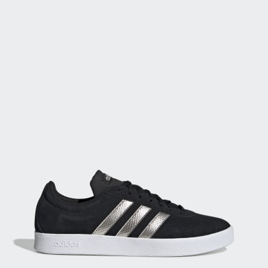 Women's Essentials Black VL Court 2.0 Shoes