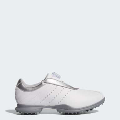 Women Golf White Driver Boa 2.0 Shoes