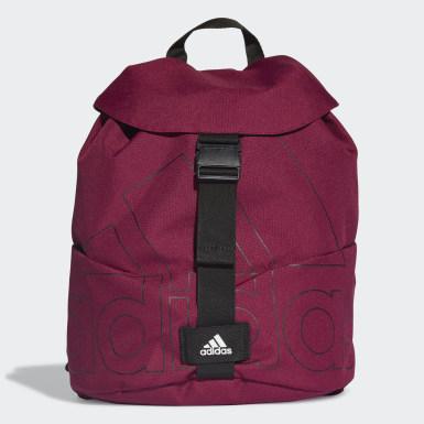 фиолетовый Рюкзак с клапаном