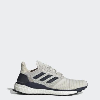 ผู้ชาย วิ่ง สีขาว รองเท้า SolarBoost