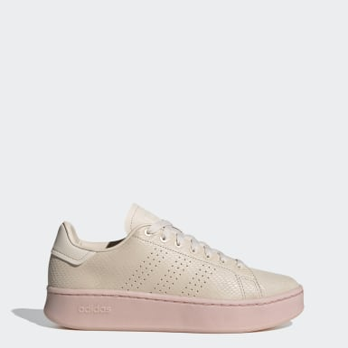 Tenis Advantage Bold Beige Mujer Sport Inspired