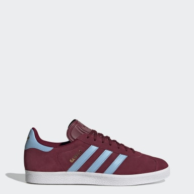 Women Originals Burgundy Gazelle Shoes
