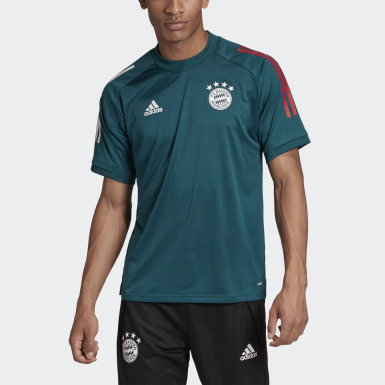 Men Football Green FC Bayern Training Jersey