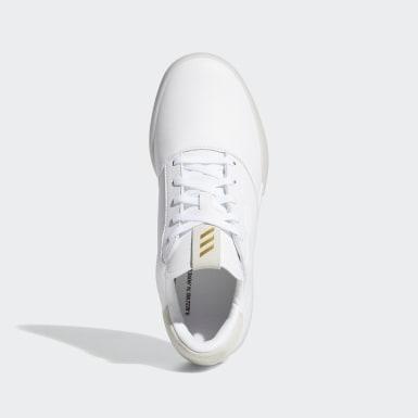 เด็ก กอล์ฟ สีขาว รองเท้า Adicross Retro