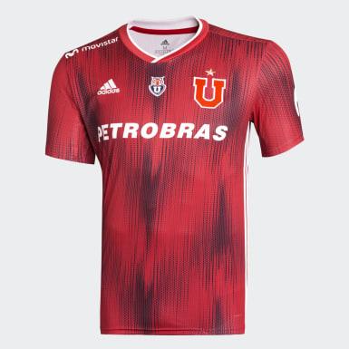Camiseta de Visitante Universidad de Chile Niño Rojo Niño Fútbol