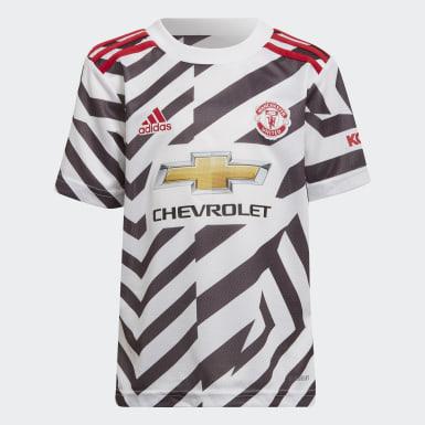 Manchester United 20/21 Tredjedrakt, mini Hvit