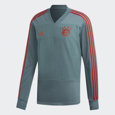 Sudadera entrenamiento FC Bayern Verde Hombre Fútbol
