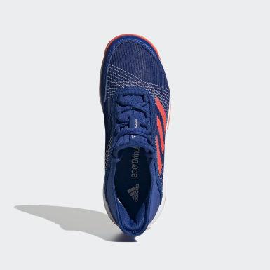 Zapatillas Adizero Club Azul Niño Tenis