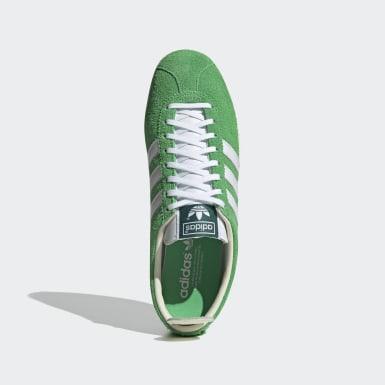 Tênis Gazelle Vintage Verde Homem Originals