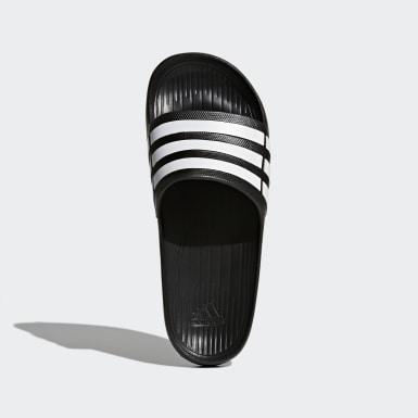 Plavání černá Pantofle Duramo