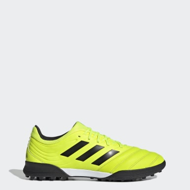 Soccer Yellow Copa 19.3 Turf Shoes