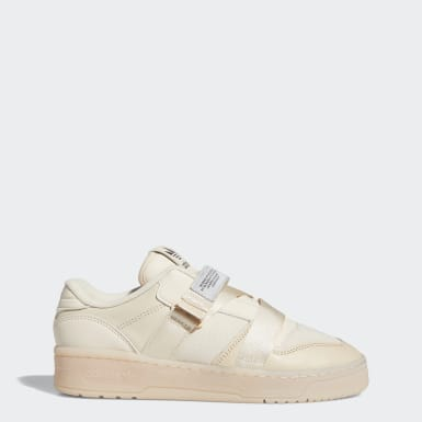 Tenis Rivalry Low Strap Beige Mujer Originals