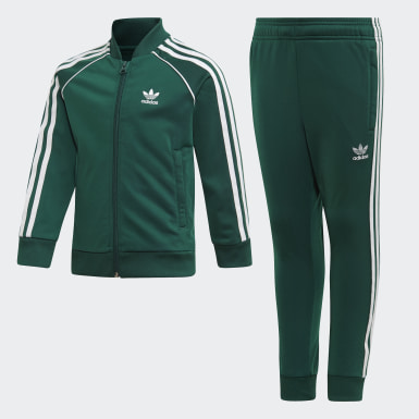 Kids 4-8 Years Originals Green SST Tracksuit