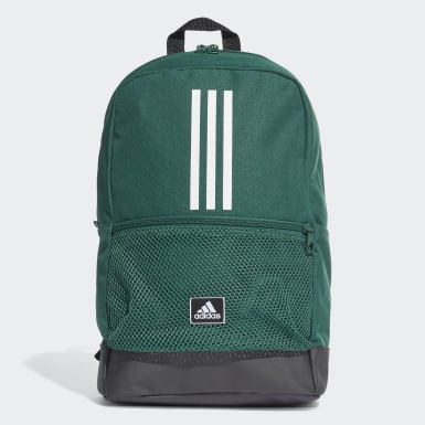 ไลฟ์สไตล์ สีเขียว กระเป๋าสะพายหลัง Classic 3-Stripes