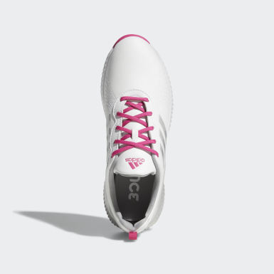 Women Golf White Response Bounce Shoes