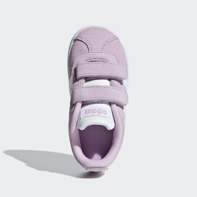 Bebek Sport Inspired Mor VL Court 2.0 Ayakkabı