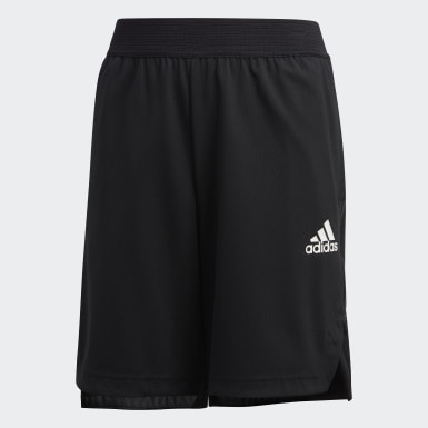 Boys Yoga Black HEAT.RDY Shorts