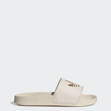 Women's Originals Beige Adilette Lite Slides