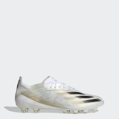 Ποδόσφαιρο Λευκό X Ghosted.1 Artificial Grass Boots