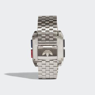 Relógio ARCHIVE_M1 Prateado Originals