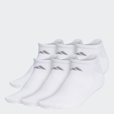 Women's Training White Superlite No-Show Socks 6 Pairs