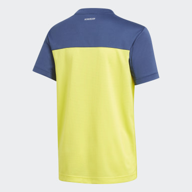 Polera Equipment Amarillo Niño Training