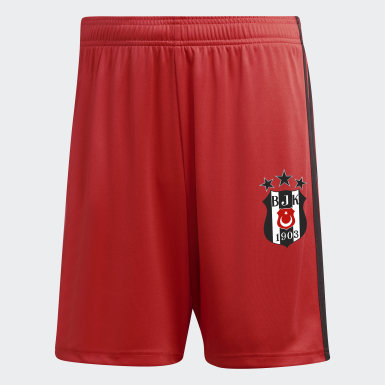 Men Football Burgundy Beşiktaş JK Away Shorts