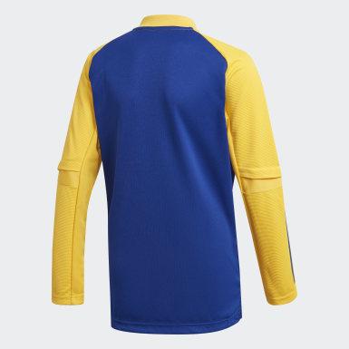 Buzo de Entrenamiento Boca Juniors Azul Niño Fútbol