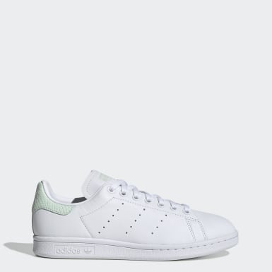Tenis Stan Smith Blanco Mujer Originals