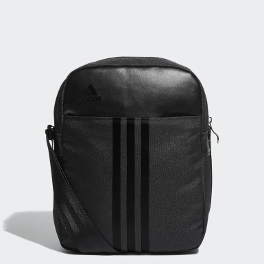 Training Black 3-Stripes Organizer Bag