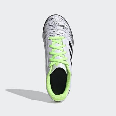 Boys Football White Copa 20.4 Turf Boots