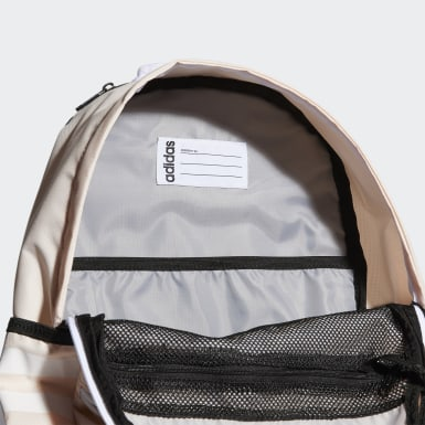 Essentials Pink Classic 3-Stripes 3 Backpack