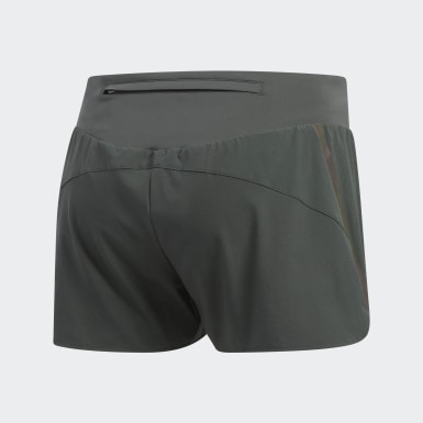 Shorts Supernova Saturday Gris Mujer Running