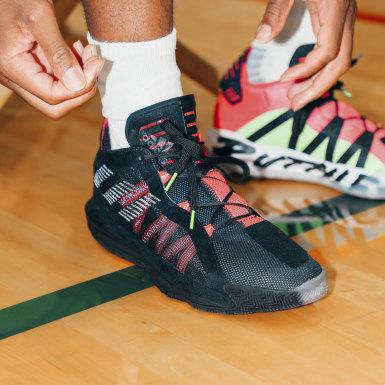 Zapatillas de básquet Dame 6 Negro Hombre Basketball