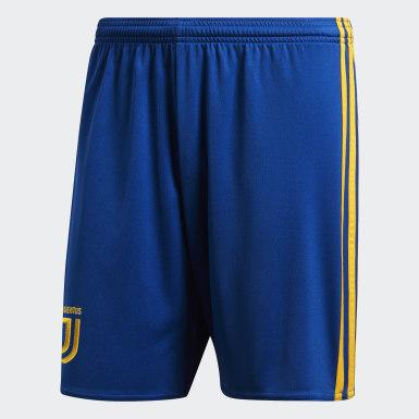 Shorts de Visitante Juventus Replica Azul Hombre Fútbol