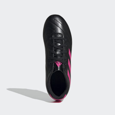 Children Soccer Black Goletto VII Firm Ground Cleats
