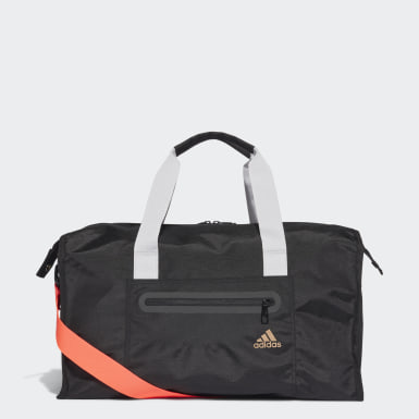 Women Training Black ID Duffel Bag