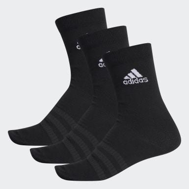 เทรนนิง สีดำ ถุงเท้าความยาวครึ่งแข้ง (3 คู่)